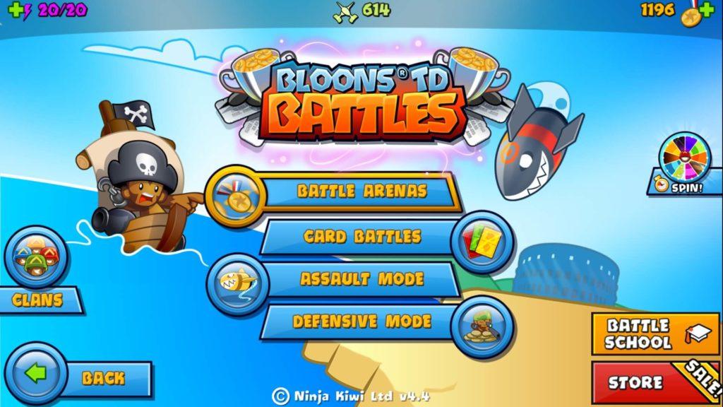 Bloon TD Battles