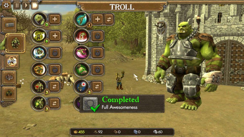 Troll Abilities, One Troll Army
