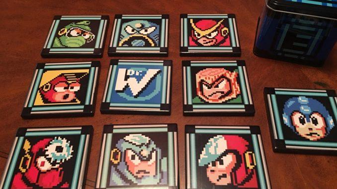 Megaman Coasters