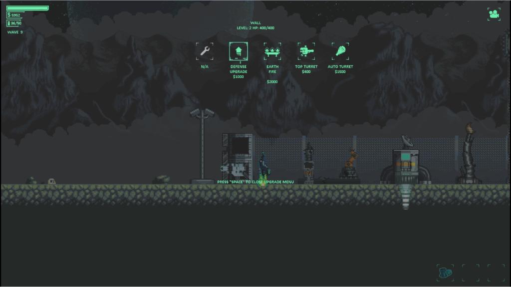 Pixel Gladiator Build Menu